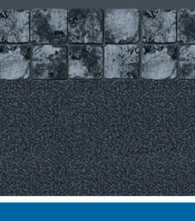 gray slate black granite pool liner image
