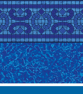 Napa Estates Brilliant Bahama pool liner image