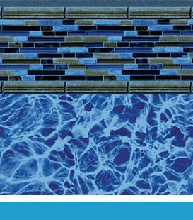zanzibar blue diffusion pool liner image